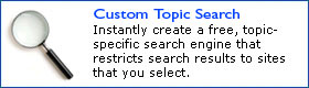 Custom Topic Search